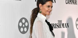Post de De Katie Holmes a Eva González, las celebs apuestan por el traje blanco