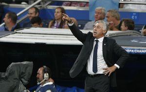 Ancelotti considera que es pronto para preocuparse por la ventaja de Atleti y Barça