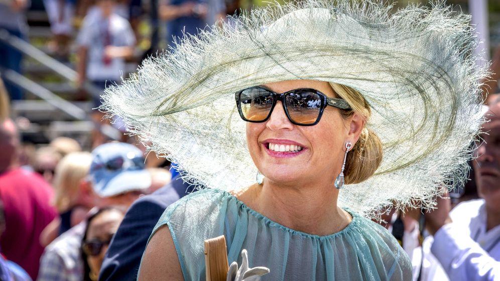 Foto: La reina Máxima de Holanda en Curazao. (Getty Images)
