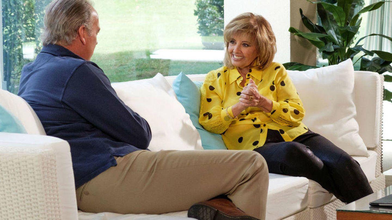María Teresa Campos con Bertín Osborne en 'Mi casa es la tuya'. (Mediaset)