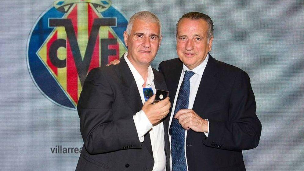 Foto: Antonio Cordón junto a Fernando Roig (www.villarrealcf.es)