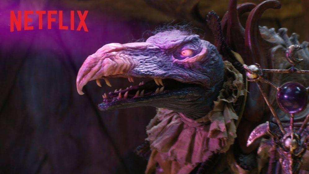 Foto: Fotograma de 'Cristal oscuro'. (Netflix).