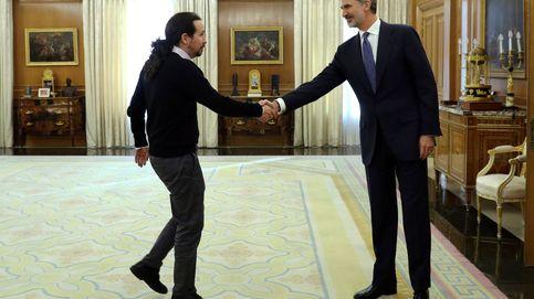 La ronda de consultas del Rey, en directo | Iglesias: Somos prudentes, pero optimistas