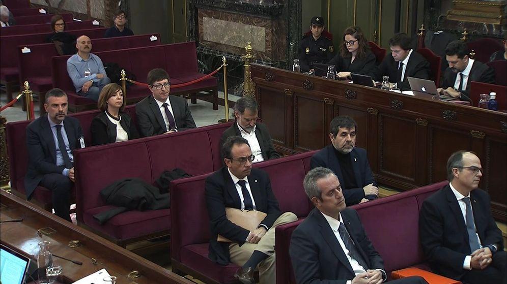 Foto: Vigésima jornada del juicio del 'procés'. (EFE)
