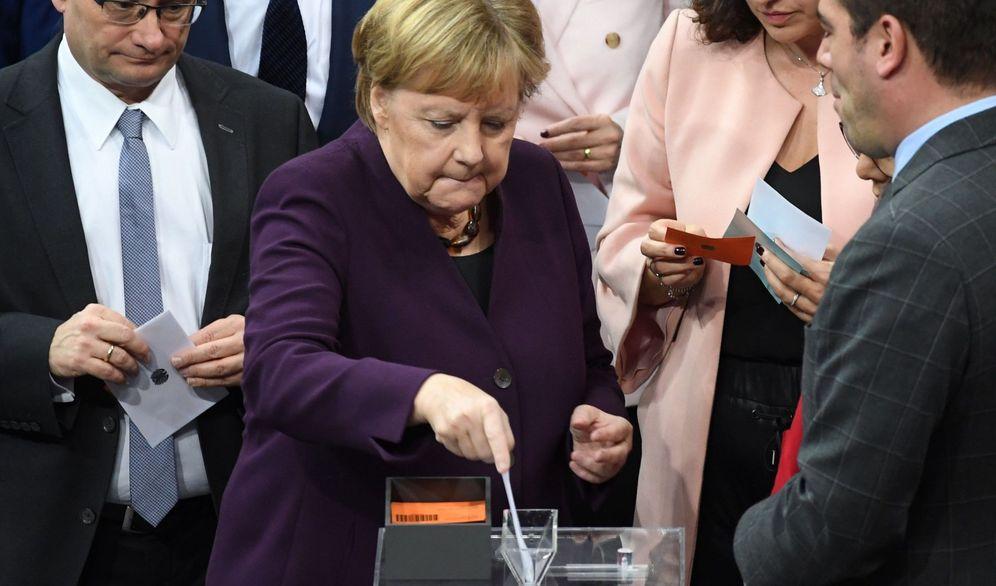 Foto: La canciller alemana, Angela Merkel. (Reuters)
