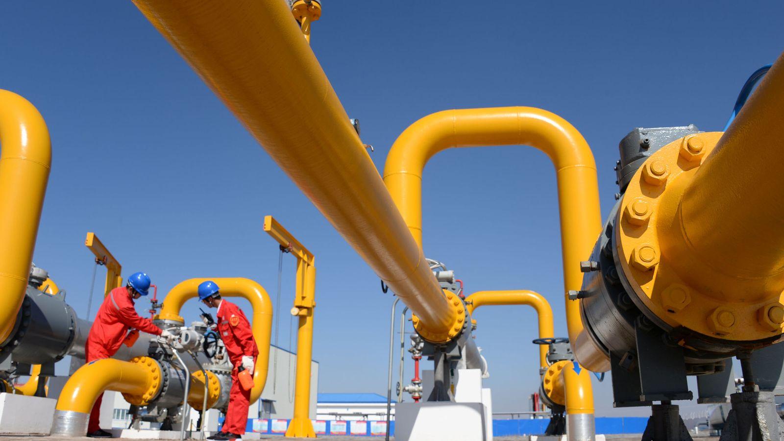 Foto: Foto de recurso de una planta de gas. (Reuters)