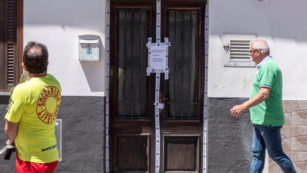 Foto: Vivienda de la mujer asesinada en Palma. (EFE)