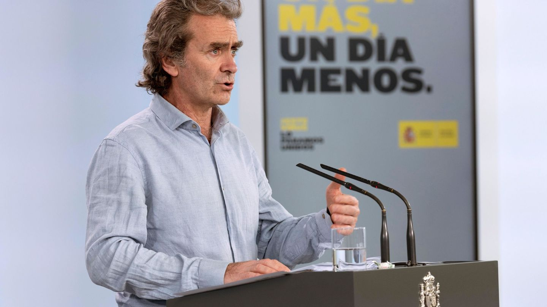 El director del Centro de Alertas y Emergencias Sanitarias, Fernando Simón. (Borja Puig / Pool Moncloa)