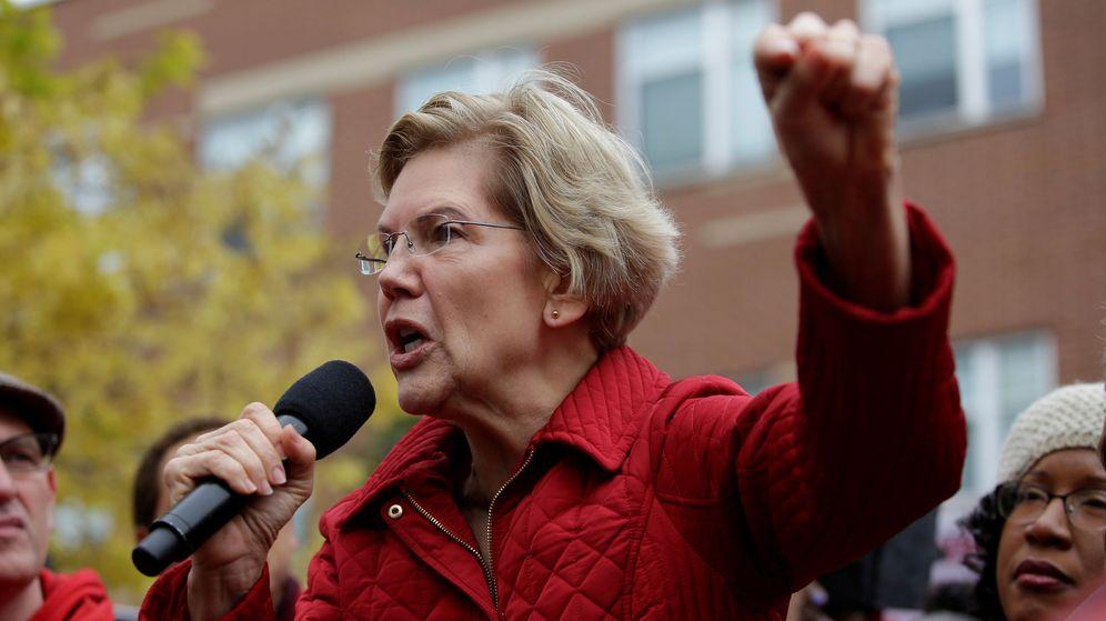 Foto: La candidata demócrata Elizabeth Warren. (Reuters)