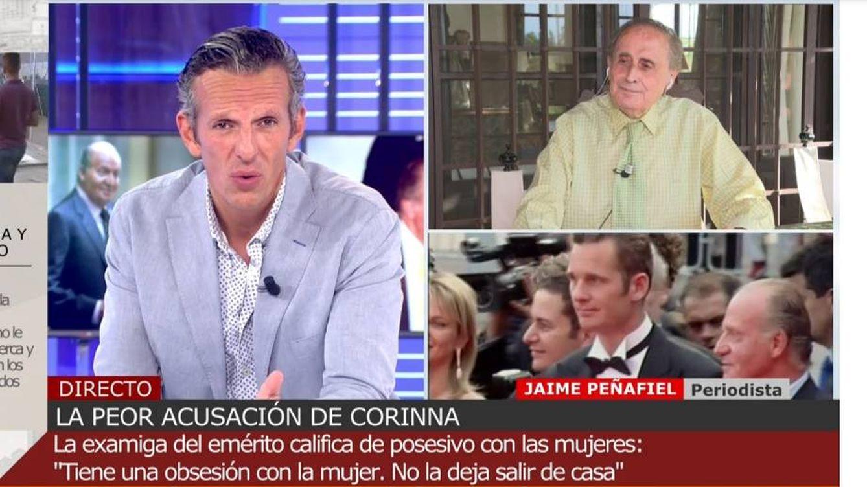 Qué barbaridad: frenan a Jaime Peñafiel tras relacionar a Corinna con prostitución