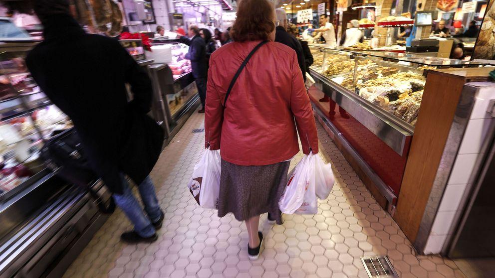 Los productos básicos de la cesta de la compra crecen más que pensiones y salarios