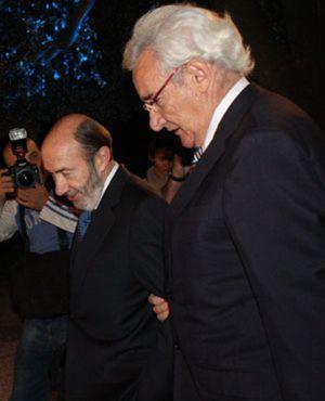 Los 'piropos' de Luis del Olmo al ministro Rubalcaba