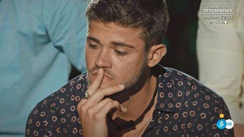 Ismael se derrumba tras el beso de Andrea con Óscar en 'La isla de las...'