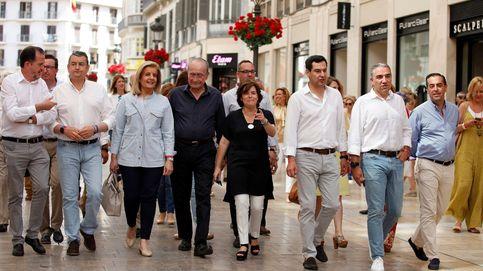 La cúpula del PP andaluz se lo juega a todo o nada por Santamaría