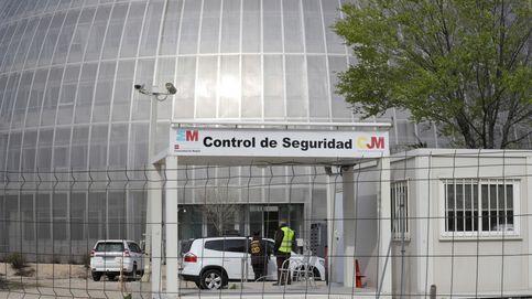 La segunda morgue provisional de Madrid empieza a recibir fallecidos por coronavirus