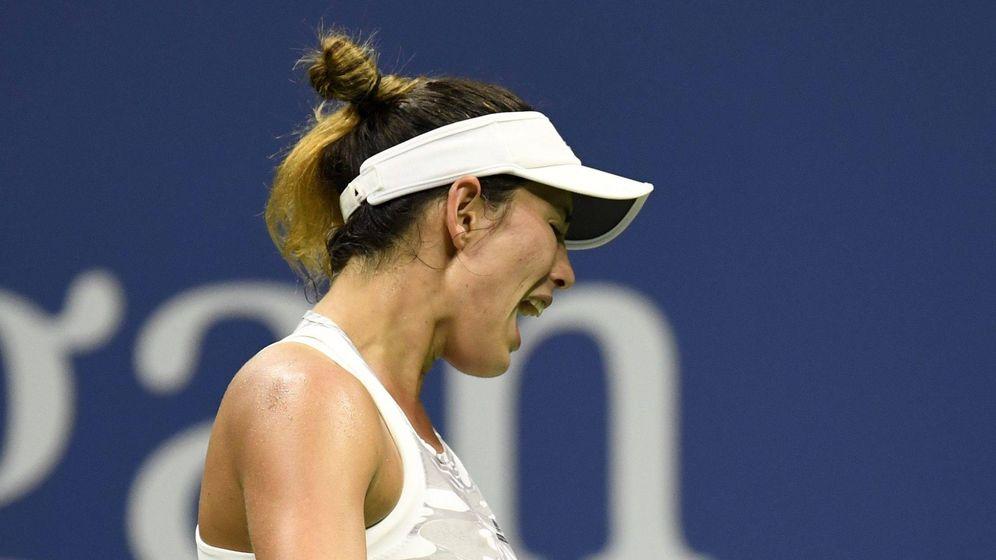 Foto: Garbiñe Muguruza, en el US Open. (Reuters)