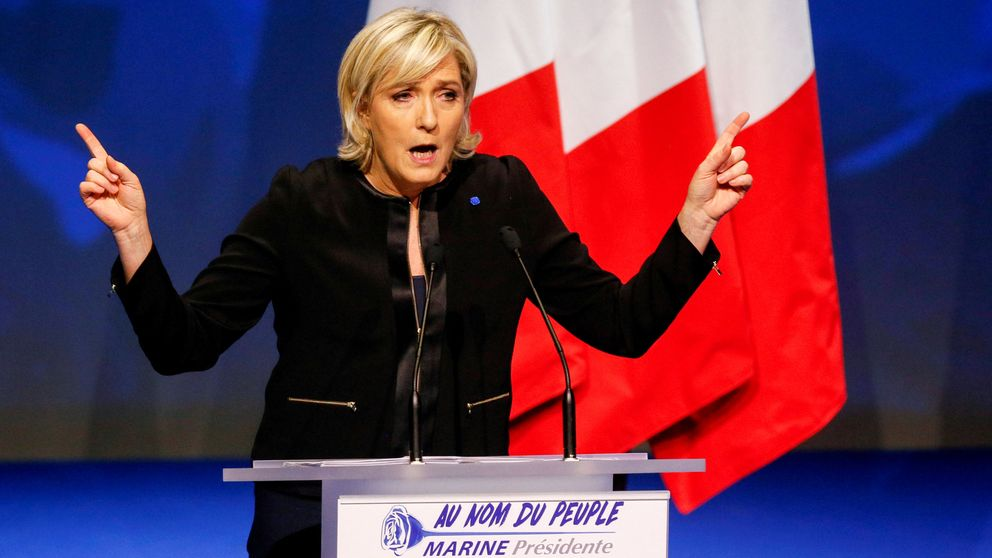 El ascenso de Marine Le Pen hunde el bono francés y amenaza al español