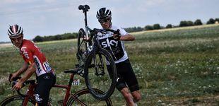 Post de El Tour, patas arriba nada más empezar: Froome y Nairo pierden tiempo