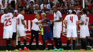 Sampaoli por Luis Enrique para convencer a un Messi que no traga a Pep Guardiola