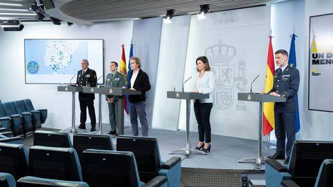 Moncloa liquida las ruedas de prensa de uniformados tras la polémica con Santiago