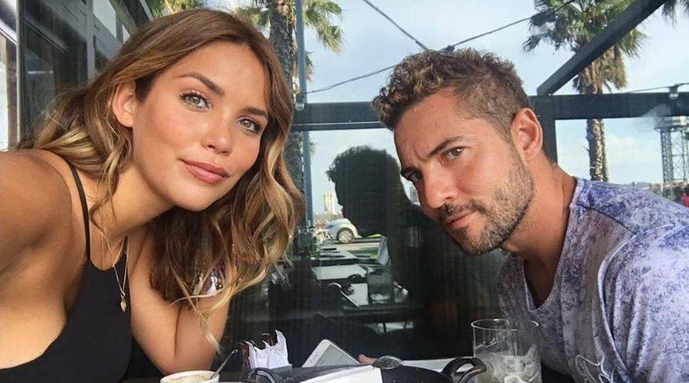 Foto: Rosanna Zanetti y David Bisbal en una imagen de archivo. (Instagram)
