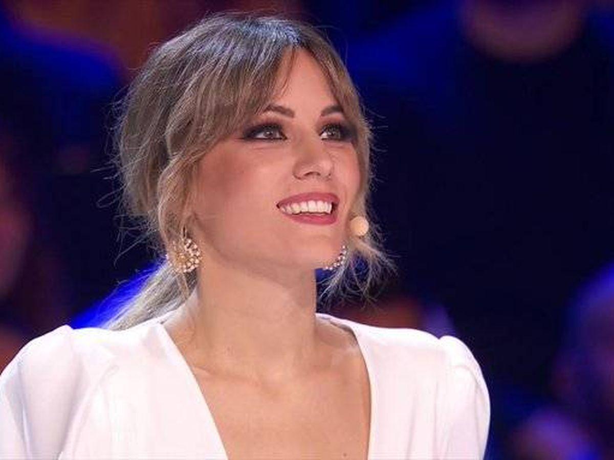 Foto: Edurne, en 'Got Talent España'. (Telecinco)