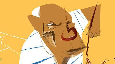 Picasso, Antonio David y las mantis religiosas