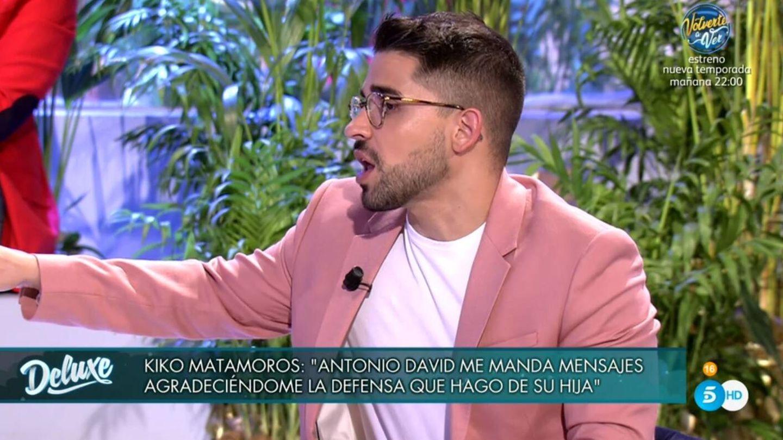 Frigenti hablando de las amenazas que ha recibido. (Telecinco).