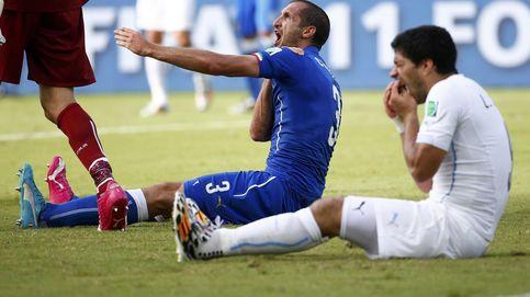 No habrá saludo Chiellini-Luis Suárez: el italiano es baja para la final por lesión