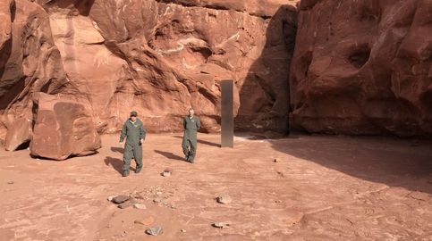 ¿Quién 'robó' el monolito del desierto de Utah? Un fotógrafo captura el momento