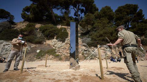 El monolito de Platja d'Aro similar al de Utah (EEUU) aparece derribado y será trasladado