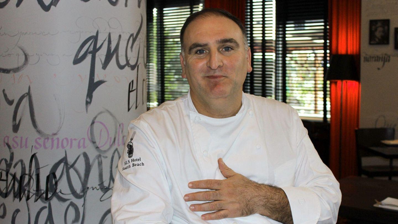 El cocinero José Andrés, en una imagen de archivo. (EFE)