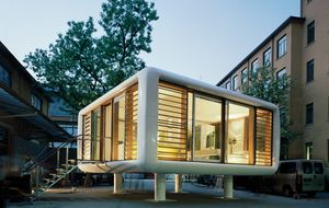 ¿Te imaginas vivir en una casa prefabricada así?