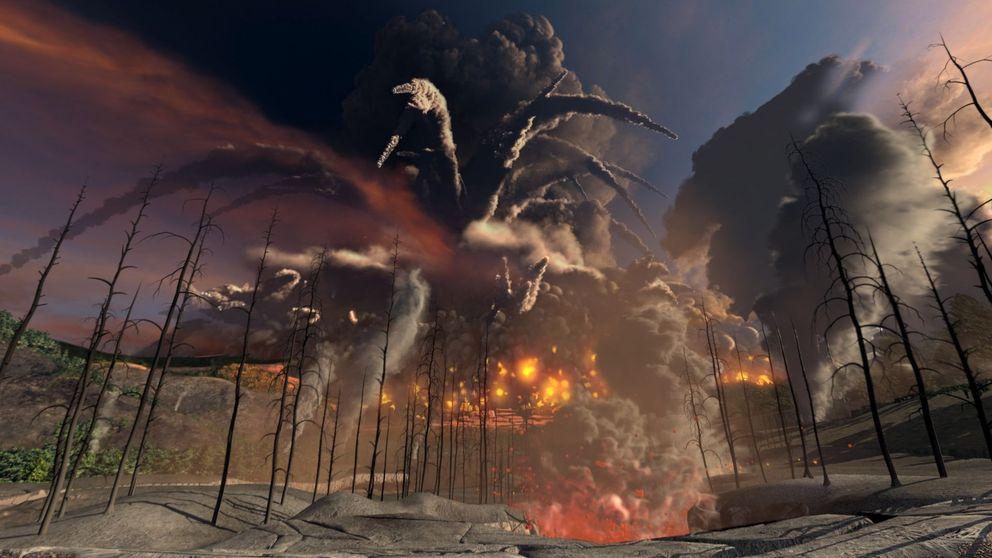 Un supervolcán arrasó el norte de la Península hace 447 millones de años