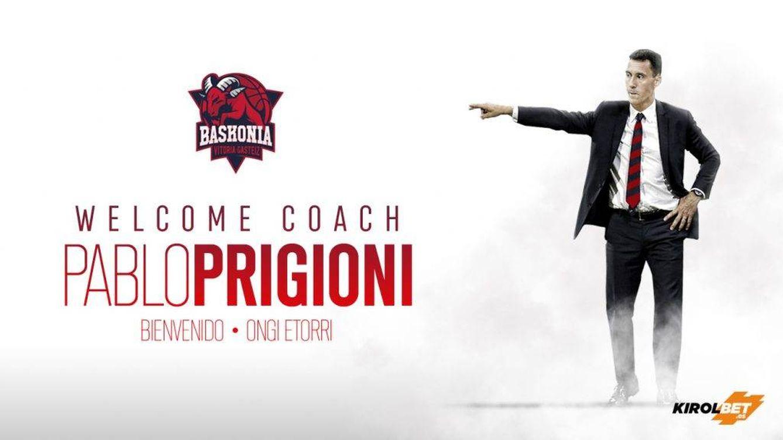 Ya es oficial: Pablo Prigioni debutará como entrenador en el Baskonia