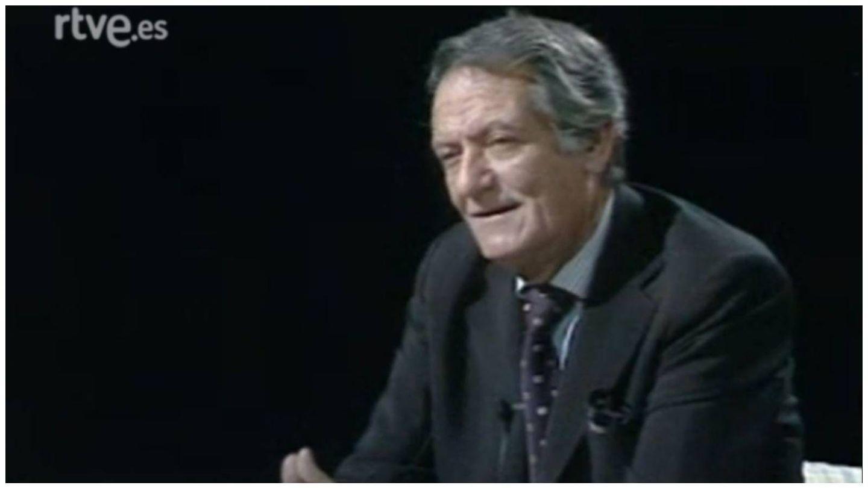 Alberto Closas en un fotograma de 'Autorretrato', el programa de entrevistas de TVE en 1984. (RTVE)