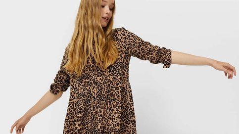 Vuelve el animal print y este vestido camisero de Stradivarius lo confirma