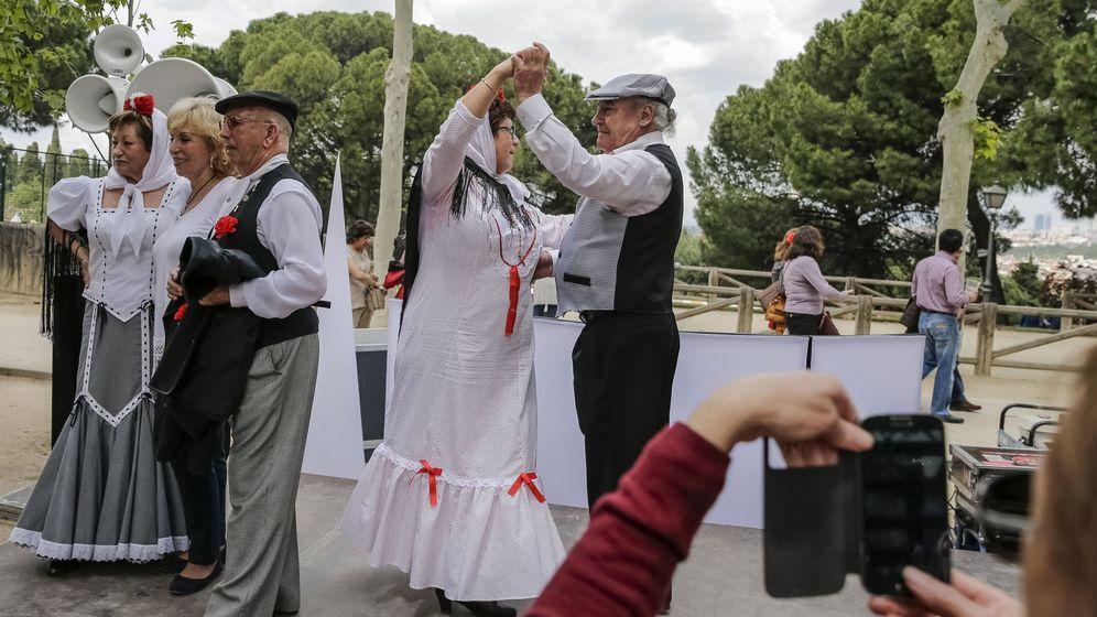 Foto: Chotis en la Pradera de San Isidro, en una imagen de archivo (EFE)