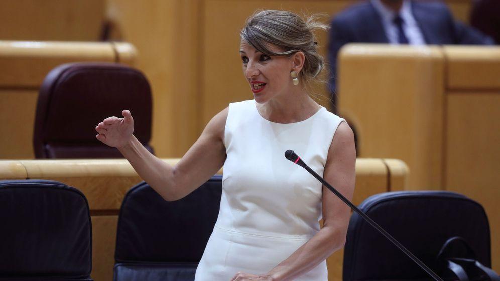 Foto: Ministra de Empleo, Yolanda Díaz (EFE)