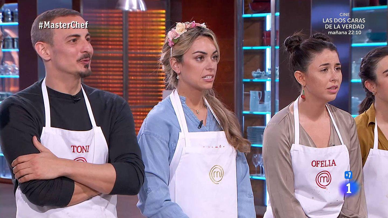 María, en 'Masterchef'. (TVE)