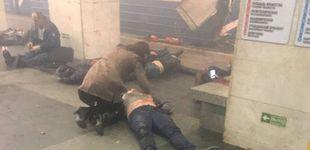Post de Al menos diez muertos en un atentado en el metro de San Petersburgo
