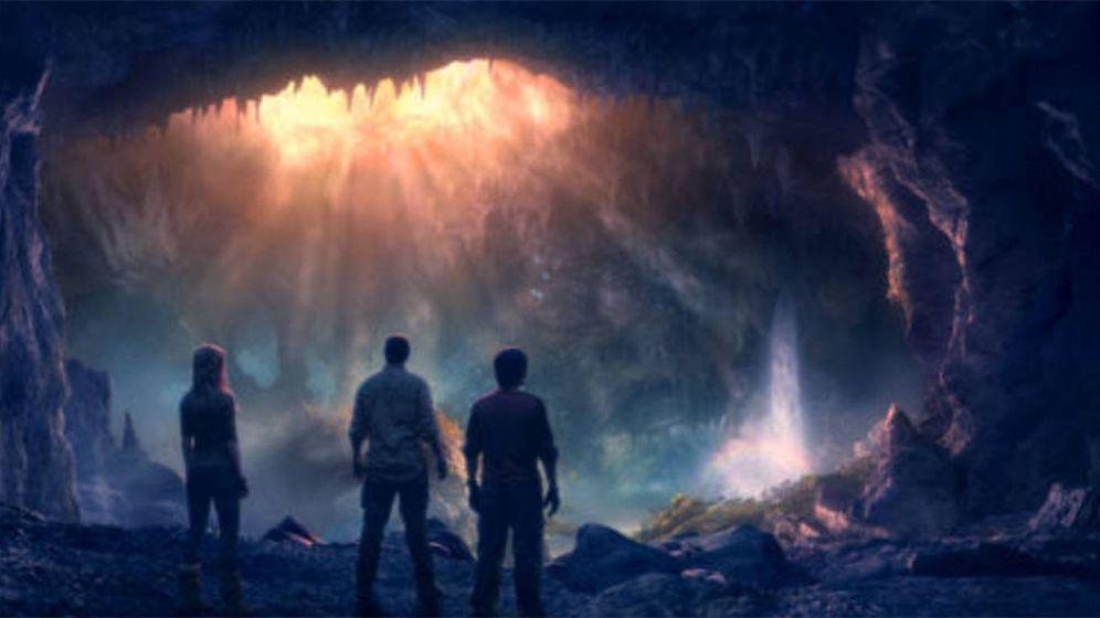 Foto: Fotograma de la película Viaje al centro de la Tierra (2008)