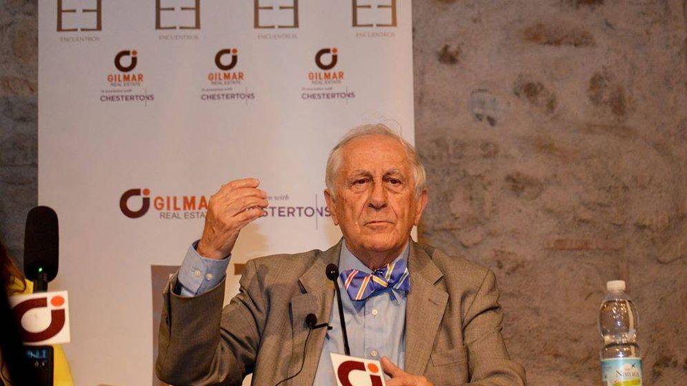 Foto:  Arias, durante una conferencia.