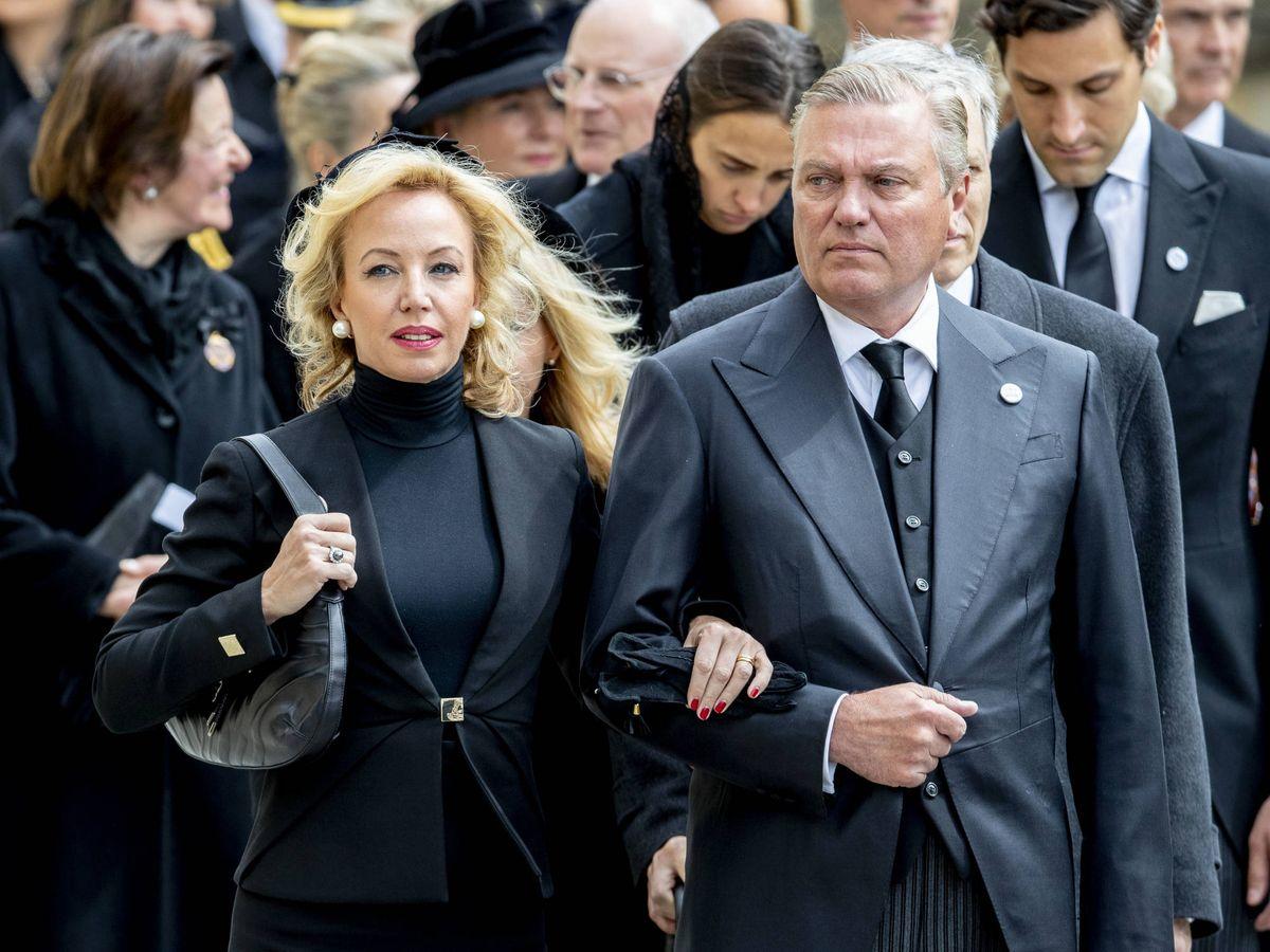 Foto: Camilla y Carlos de Borbón-Dos Sicilias. (Getty)