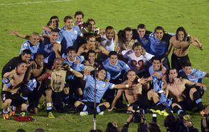 Uruguay, último equipo mundialista tras empatar en un mal partido frente a Jordania