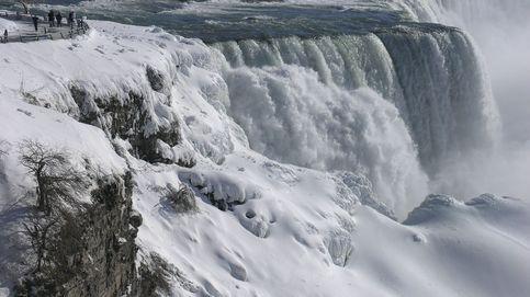La ola de frío extremo de EEUU congela las Cataratas del Niágara