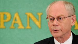 """Van Rompuy ve """"encauzadas"""" las negociaciones sobre la ayuda a Grecia"""