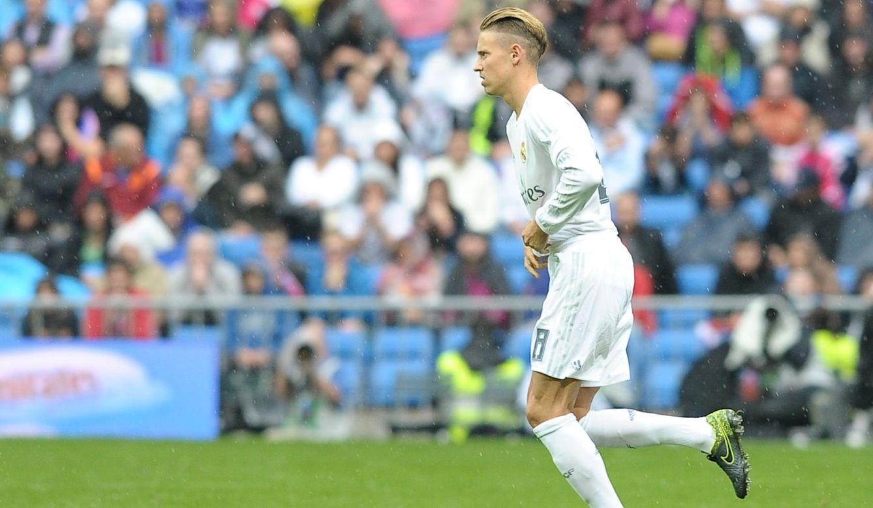 Foto: Marcos Llorente debutó contra el Levante (Cordon Press).