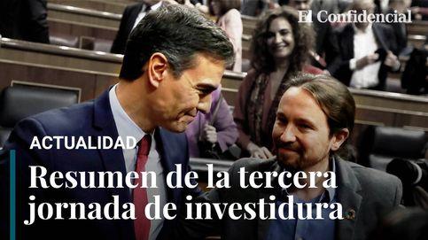 Resumen de la tercera sesión de investidura: Pedro Sánchez es elegido presidente del Gobierno por mayoría simple