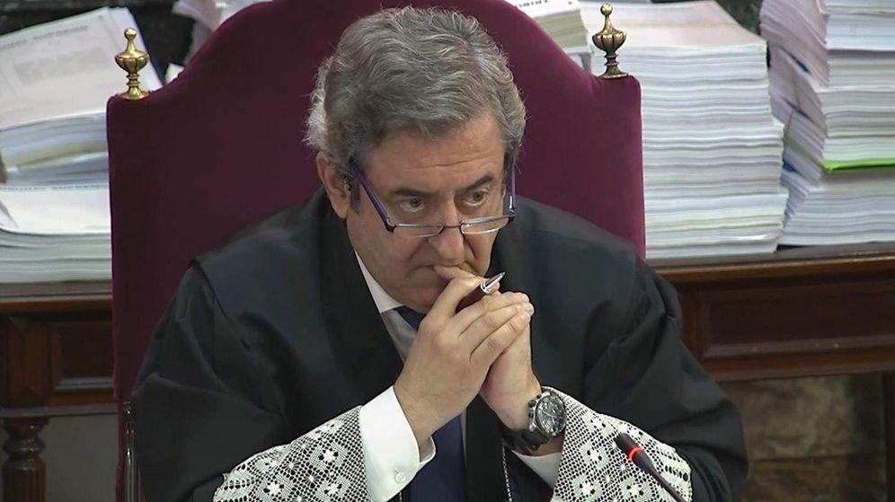 Foto: El fiscal Javier Zaragoza, en el juicio del 'procés'. (EFE)